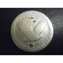 Usa Un Cuarto De Dolar 1927 Plata Ley 0.900