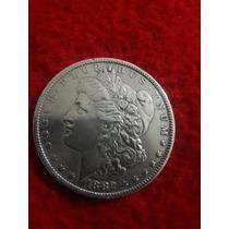 Usa 1 Dolar Morgan Fecha 1882 Plata Ley 0.900