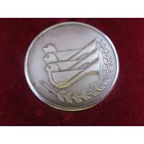 Moneda Medalla Plata Universiada Mexico 1979 Fisu