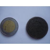 1 Centavos Mexico De 1890 De Cobre