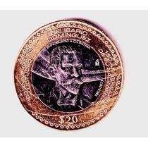 $20 Conmemorativo Belisario Dominguez Año 2013 En $ 80 Op4