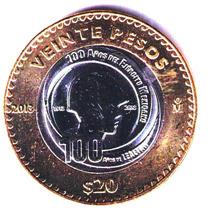 $20 Ejercito Mexicano 2013 Sin Circular En $ 60 Rm4