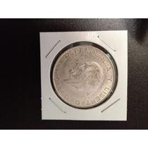 Moneda 5 Pesos Hidalgo Plata 720