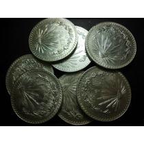Peso Resplandor Fechas 1920-1945 Plata Ley 0.720