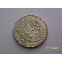 Se Venden Dos Monedas De 20 Pesos