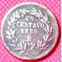 1 Centavo 1889 México Presidente General Porfirio Díaz - Vbf