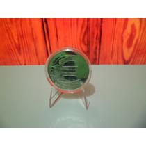 Moneda Europea Conmemorativa Bañada En Plata Para Coleccion