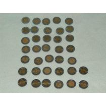 Colección Completa De Monedas De 5 Pesos, Con Libro
