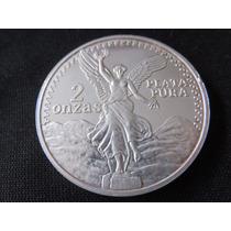 Moneda 2 Onzas Libertad Y Aguila