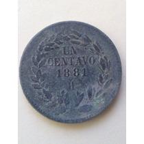 Moneda Un Centavo De Hermosillo 1881