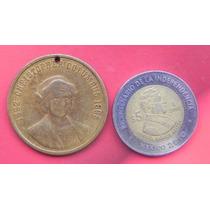 Medalla U.s.a. Cristobal Colon Bronce 1898