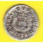 1/2 Real 1753 Plata México Moneda Columnaria Fernando Vl Hm4