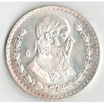 Moneda Un Peso Morelos Tepalcate 1966