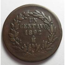 1 Centavo 1892 Mo República Mexicana