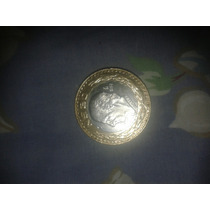 Moneda/hidalgo $20/1993 De Plata