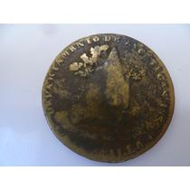 Antigua Moneda De 1/4 De R, Departamento 1836 Zac.