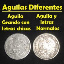 Moneda 1 Real 1850 Go Variedad Letras Chicas, Aguila Grande