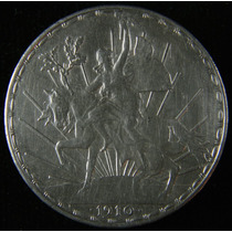 1 Peso Caballito 1910