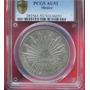 Moneda México Chihuahua 1884 Mn Certificada Au-53