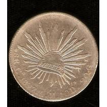 8 Reales Culiacan 1897 Plata