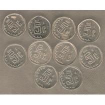 Coleccion De Moneditas De 5 Cvs Incluye 1999