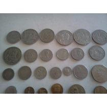 Monedas Antiguas Lote De 31 Piezas Diferentes De 30´s A 80´s