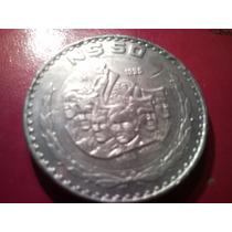 Cambio Rara Moneda De 50 Nuevos Pesos Toda En Plata Error