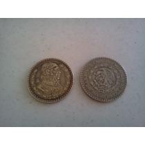 Lote Colección 11 Monedas De 1 Un Peso 57 Al 67 Plata .100