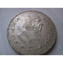 Moneda 1 Pesos Año 1960 0.1 Plata