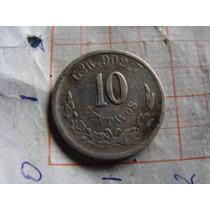 Moneda De 10 Centavos Año 1894, Como Aprece En Las Fotos