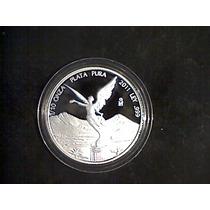 Moneda Libertad 1/10 De Onza Acabado Proof 2011 !!