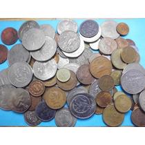 Gran Lote De 100 Monedas Mexicanas De Siglo 19-20 Y 21