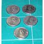 Lote De 5 Monedas De 50 Pesos 1985