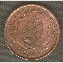 Moneda Antigua Del Canada 1837