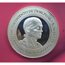 Medalla México Nacimiento De Don Pedro Romero Plata