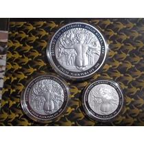 Monedas Frida Khalo Y Diego Rivera De 5, 2 Y 1 Onza