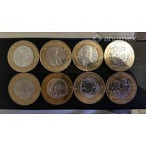 Monedas Conmemorativa 20 Pesos Zacatecas, Veracruz, Ejercito