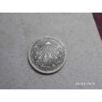 Moneda Antigua Peso 1922 Plata 0.720