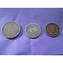 Monedas Antiguas 1,5, 10 Centavos