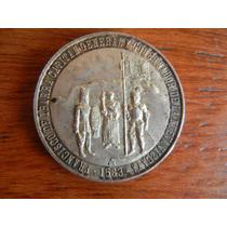 1963 Medalla De Plata 400 Aniversario Fundación De Durango