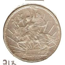 Peso Del Caballito 1913 Chulada