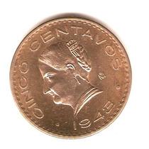 Josefa 1943 Unc (brillo Oro)