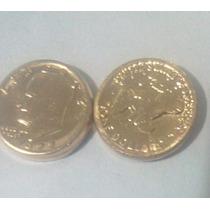 Lote De 20 Mini Monedas De 1 Dólar 22k