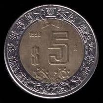 Moneda Conmemorativa De 5 Pesos De Villa