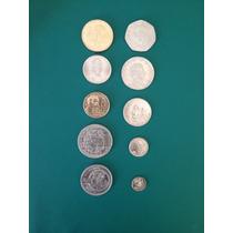 Lote De 10 Monedas De Mexico Sin Circular