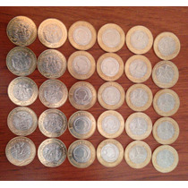 Monedas Colección Veinte Pesos,veracruz
