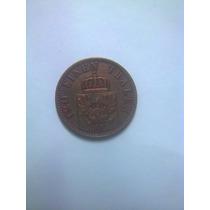 Moneda Antigua 3 Pfenninge 1867 A Alemania