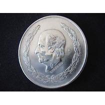 Excelente Moneda De Plata 5 Pesos Hidalgo Grande