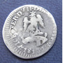 Moneda Mexico Congreso Nacional 1/2 Real 1813