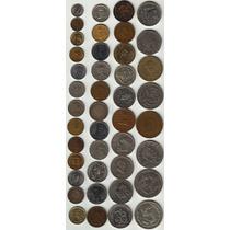 42 Monedas Antiguas Mexicanas Bellisimas Por Lote !!! Op4